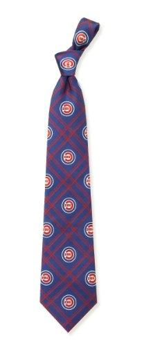Chicago Cubs Woven Polyester Necktie