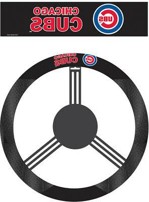 chicago mlb poly suede steering