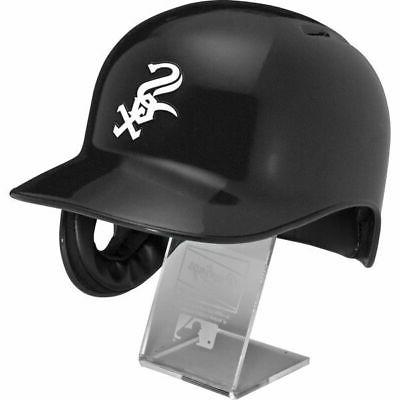 Chicago White Sox Full Size Batting Helmet Free Display Stand