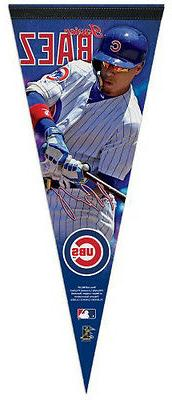 JAVIER BAEZ Chicago Cubs MLB Baseball Premium Felt Collector