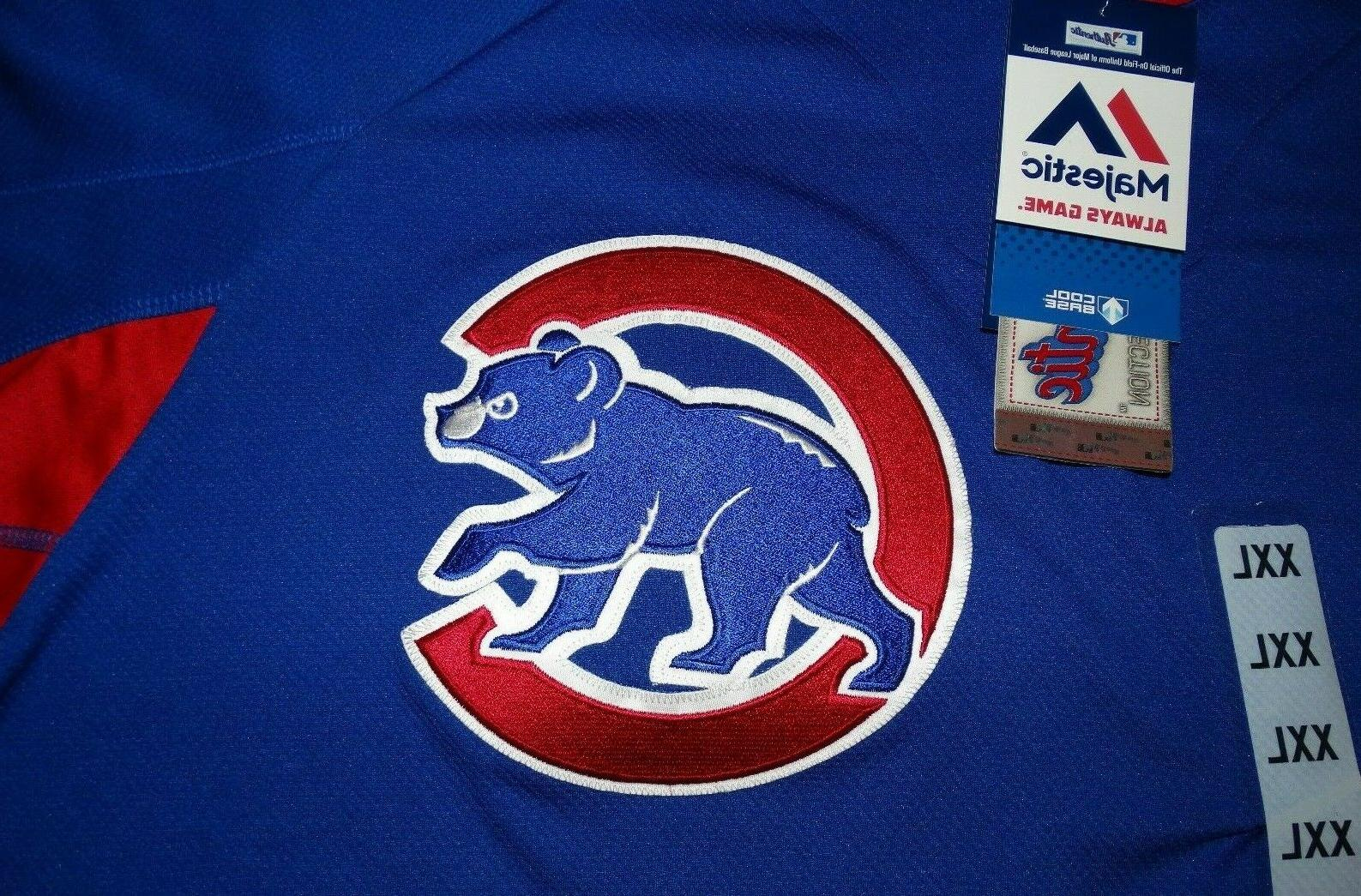 Men's Chicago Cubs Jersey Base New NWT $100