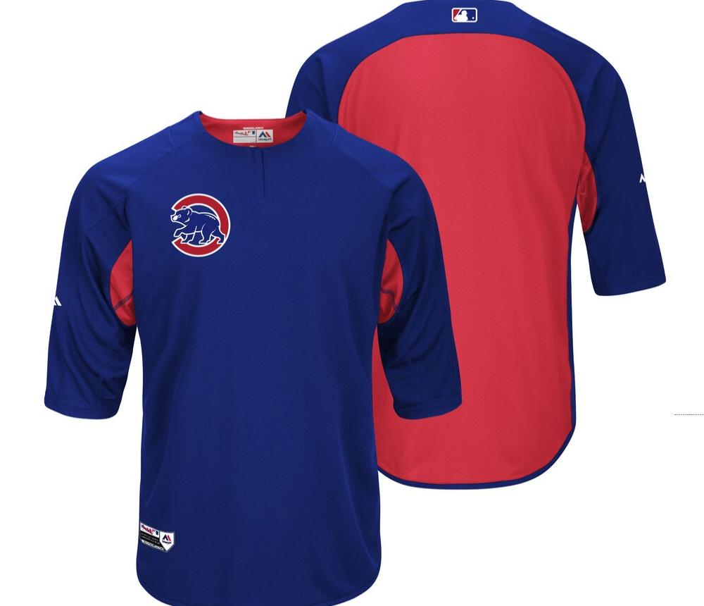 mlb chicago cubs authentic collection on field