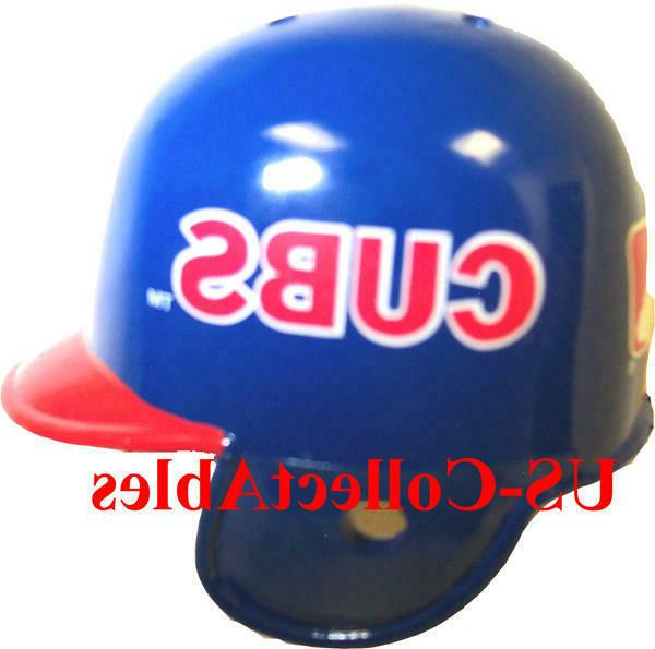 mlb chicago cubs baseball helmet cap keychain