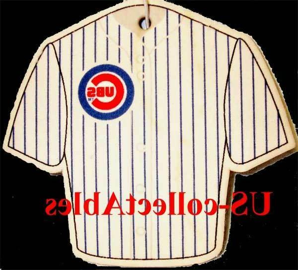 mlb chicago cubs baseball jersey air freshener