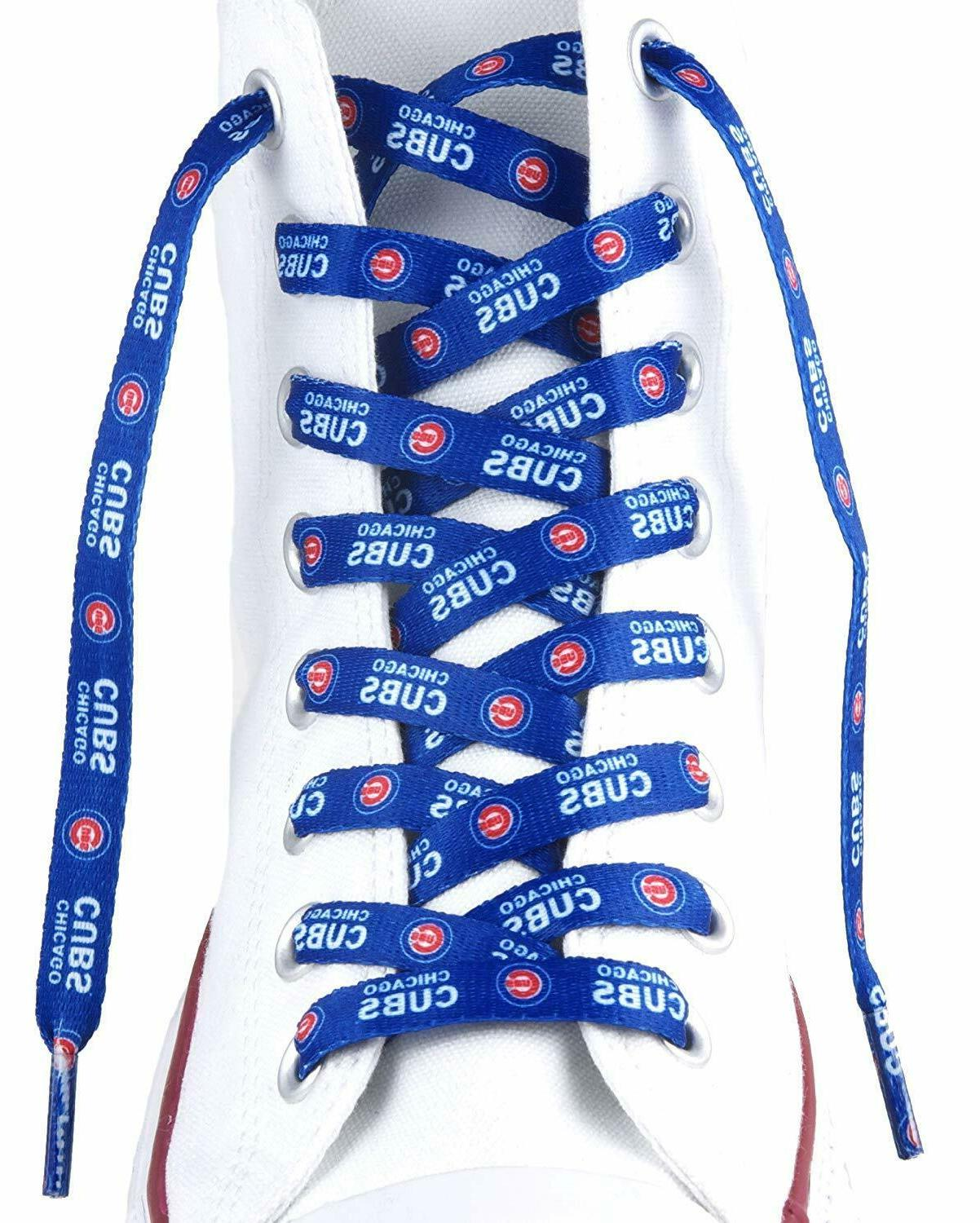 mlb chicago cubs lace ups