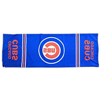mlb chicago cubs large baseball body pillowcase