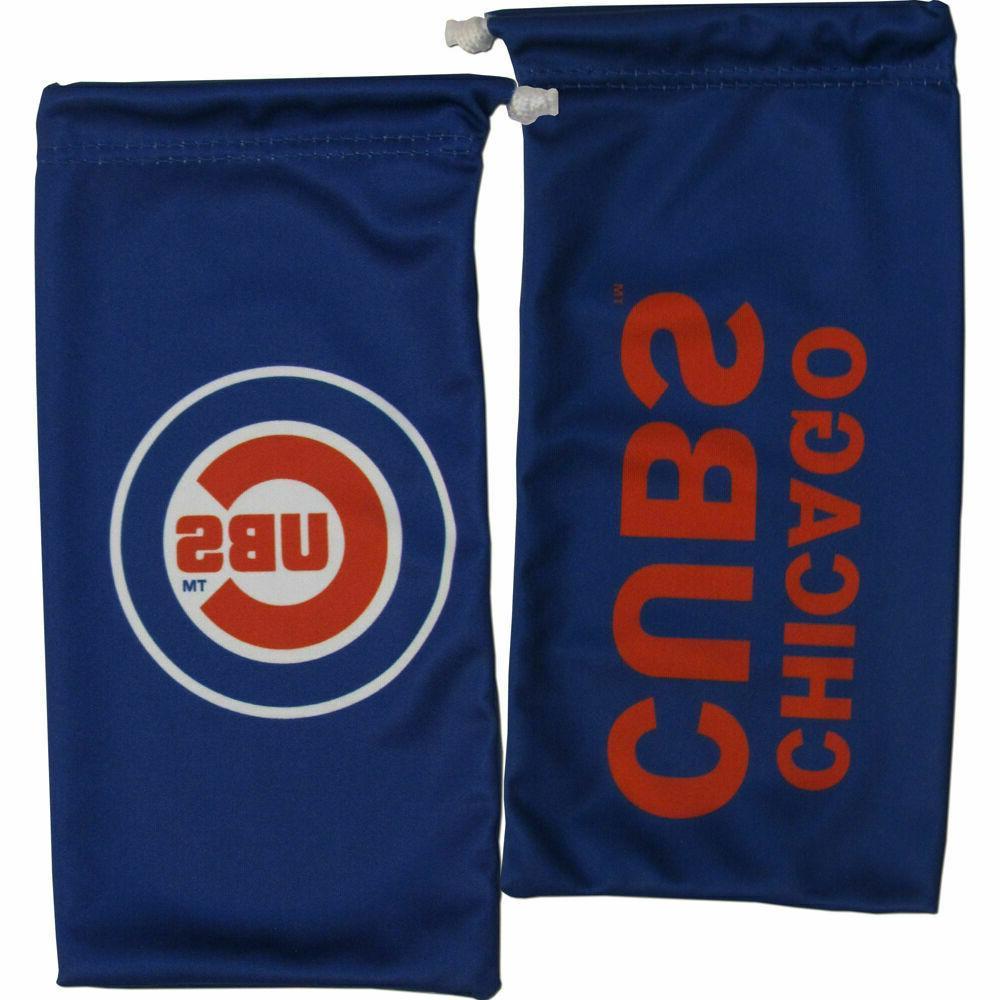 mlb chicago cubs microfiber eyewear storage bag