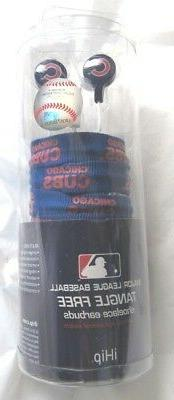 MLB Chicago Cubs Ihip Shoelace Earbuds