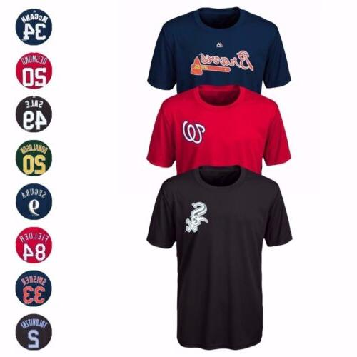 mlb name and number player jersey infant