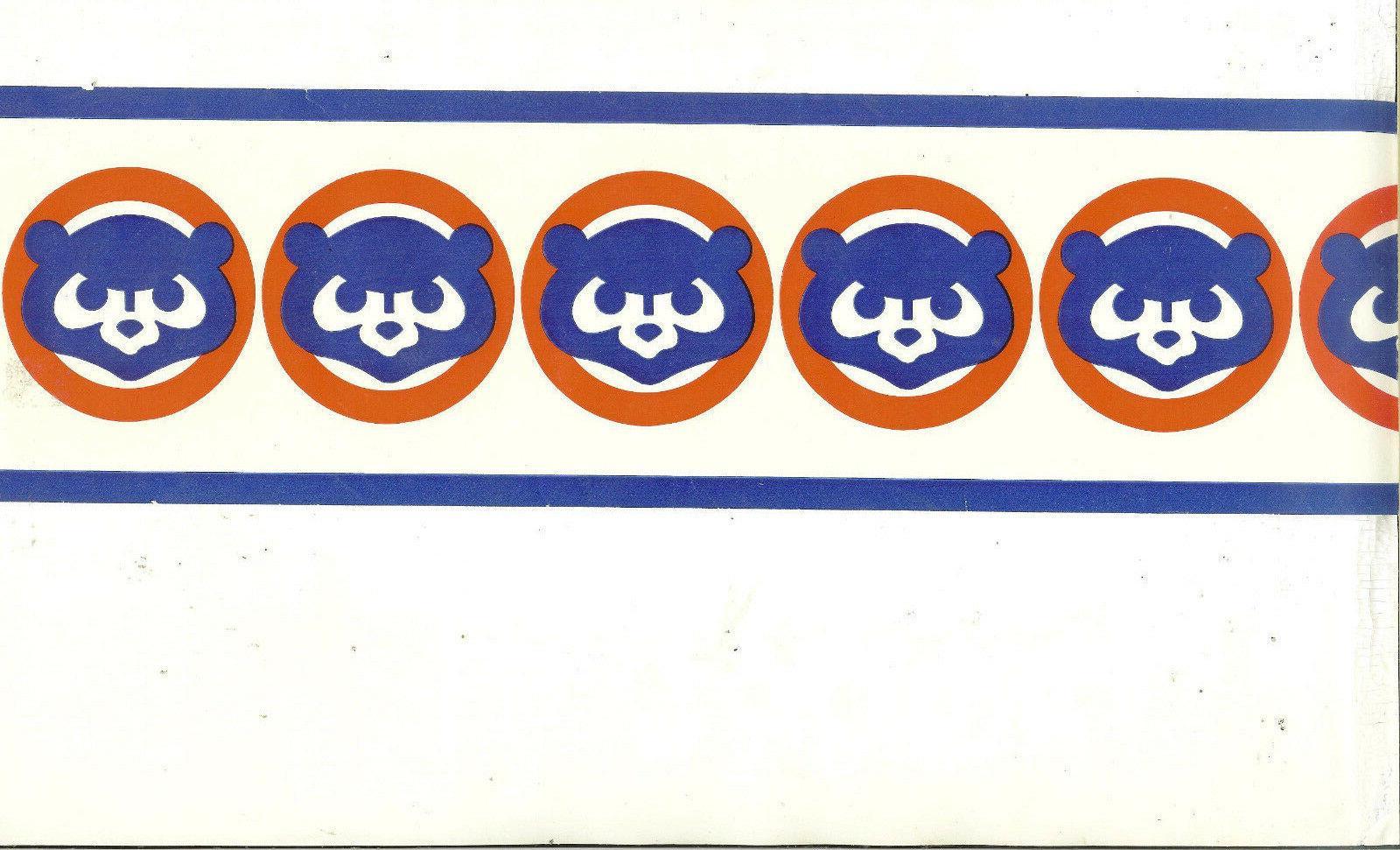 mlb team chicago cubs wallpaper border