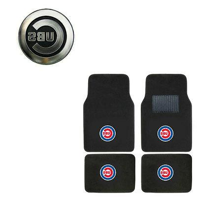 new 5pc mlb chicago cubs car truck