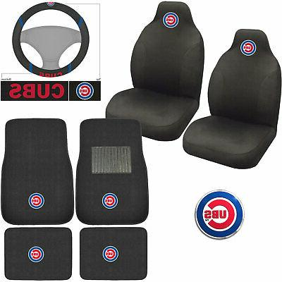 new mlb chicago cubs car truck seat