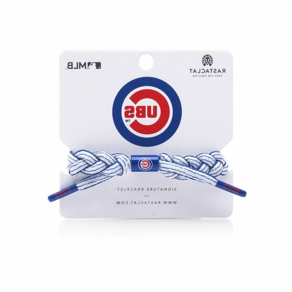 Rastaclat Chicago Cubs Bracelet, Infield