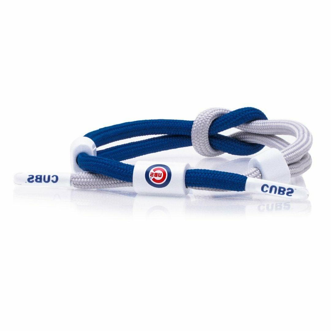 rastaclat chicago cubs outfield bracelet mlb adjustable