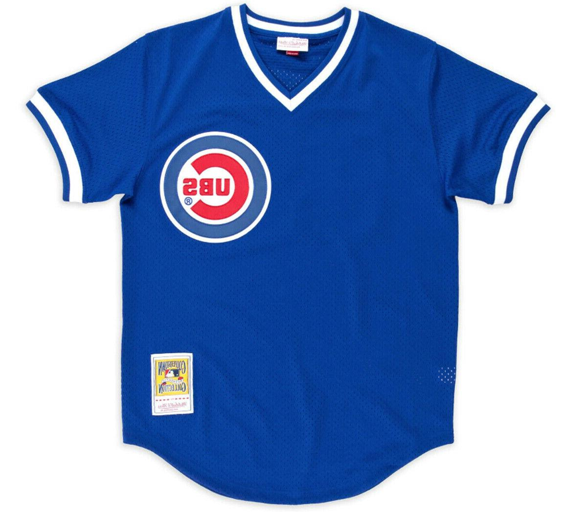 Ryne Cubs Men's Mitchell Batting Practice Jersey