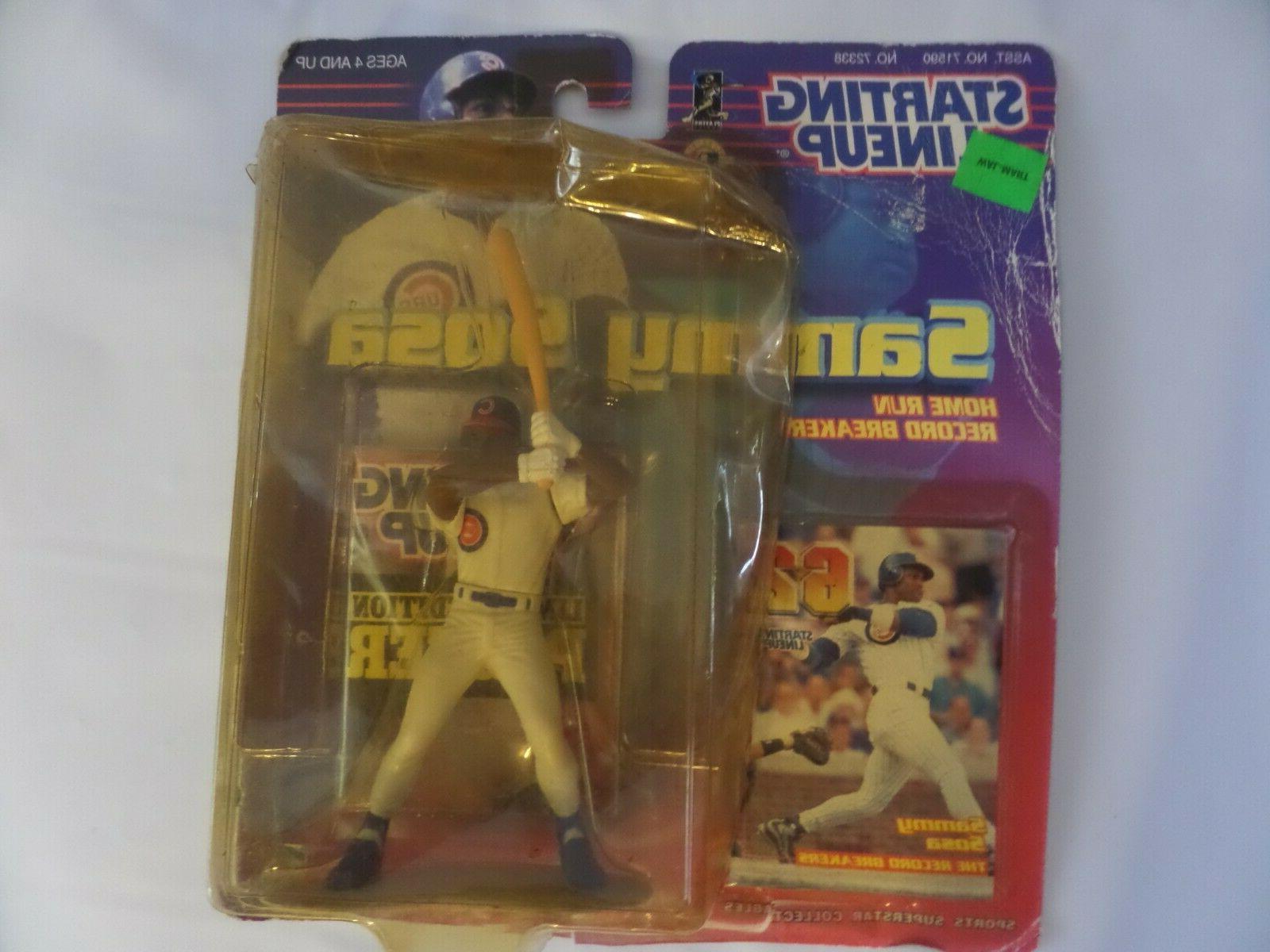 sammy sosa action figure sports toys chicago