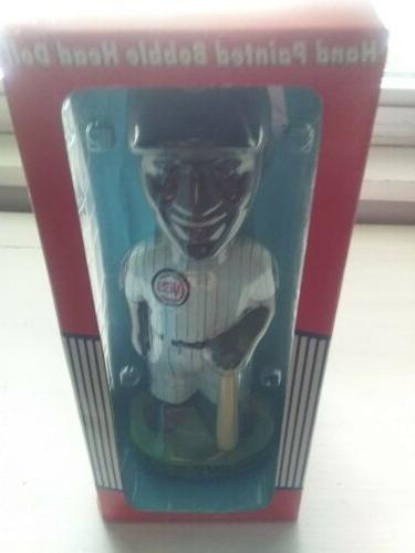 sammy sosa chicago cubs hand painted bobblehead