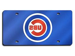 Rico Industries Chicago Cubs License Plate