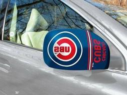 licensed mlb chicago cubs car mirror covers