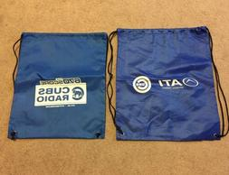 Lot Of 2 Chicago Cubs Drawstring Bags ATI Physical Therapy 6