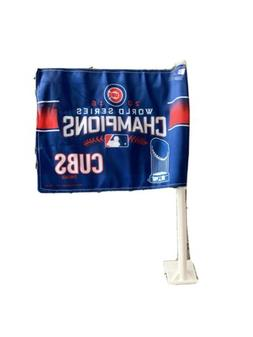 Lot Of  2016 Chicago Cubs World Series Car Flags New