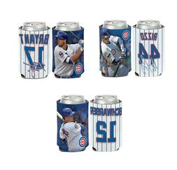 Lot of 3 Chicago Cubs Players Can Coolers