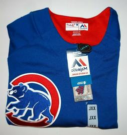 Men's Chicago Cubs Majestic Jersey Shirt 2XL Cool Base New N
