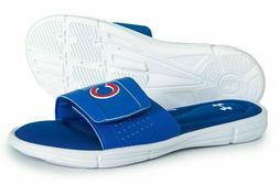 Under Armour Men's Ignite MLB V Slide Sandals Chicago Cubs N