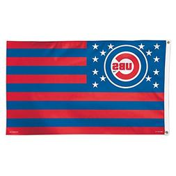 MLB Chicago Cubs 02704115 Deluxe Flag, 3' x 5'