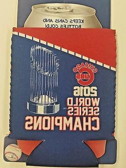 MLB Chicago Cubs 2016 World Series Champions Can Cooler, Coo