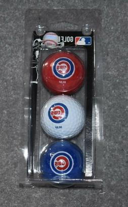 MLB Chicago Cubs 3 Ball Clam, Blue