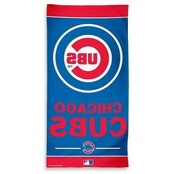 WinCraft MLB Chicago Cubs A1877115 Fiber Beach Towel, 9 lb/3