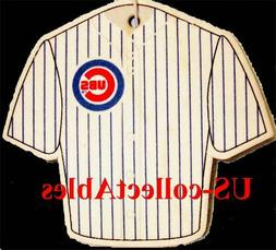 mlb chicago cubs baseball jersey air freshener