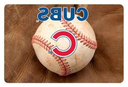 MLB Chicago Cubs Baseball Pet Mat