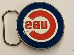 MLB Chicago Cubs Belt Buckle, New