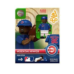 MLB Chicago Cubs Edwin Jackson Generation 3 Toy Figure NEW T