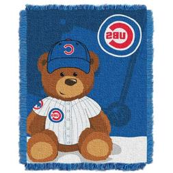 The Northwest Company MLB Chicago Cubs Field Bear Woven Jacq