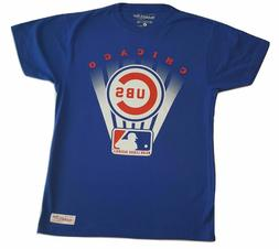 MLB Chicago Cubs Mitchell and Ness Tagless Baseball Men's T-
