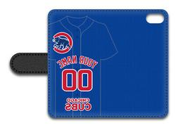 MLB Chicago Cubs Personalized Name/Number iPhone iPod Wallet