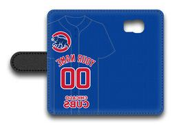 MLB Chicago Cubs Personalized Name/Number Samsung Phone Wall