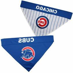 MLB CHICAGO CUBS REVERSIBLE PET BANDANA LICENSED