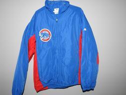 mlb chicago cubs therma base baseball jacket
