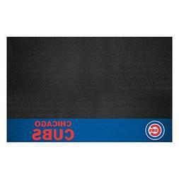 FANMATS MLB Chicago Cubs Vinyl Grill Mat