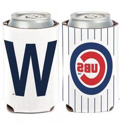"""MLB Chicago Cubs """"W"""" Wincraft 12 oz. Can Cooler NEW!"""