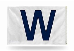 MLB Chicago Cubs W 3-Foot by 5-Foot Banner Flag