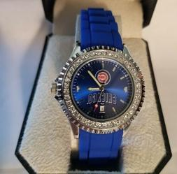 MLB Chicago Cubs Women's Sparkle Watch