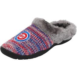 MLB Chicago Cubs Womens Peak Slide Slippers - Choose Size