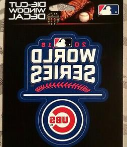 MLB Chicago Cubs World Series Champion Decal Sticker Window