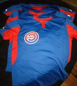 mlb cool base numbered chicago cubs warmup