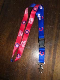 New Baseball Chicago Cubs Lanyard ID Badge Holder Breakaway